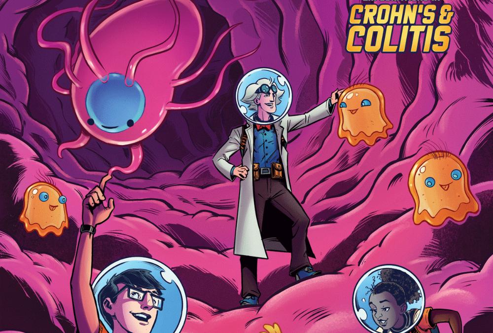 Professor Nimbal – A New Comic Exploring Inflammatory Bowel Disease