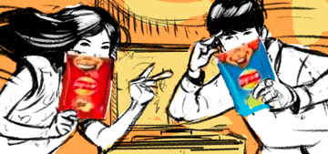 Storyboards: Lays Chinese New Year Commercial