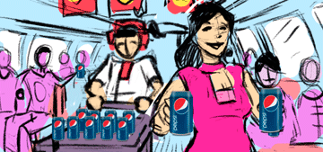 Storyboards: Pepsi Chinese New Year Commercial